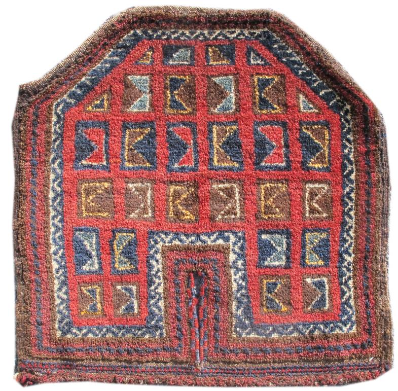 Uzbek saddle rug