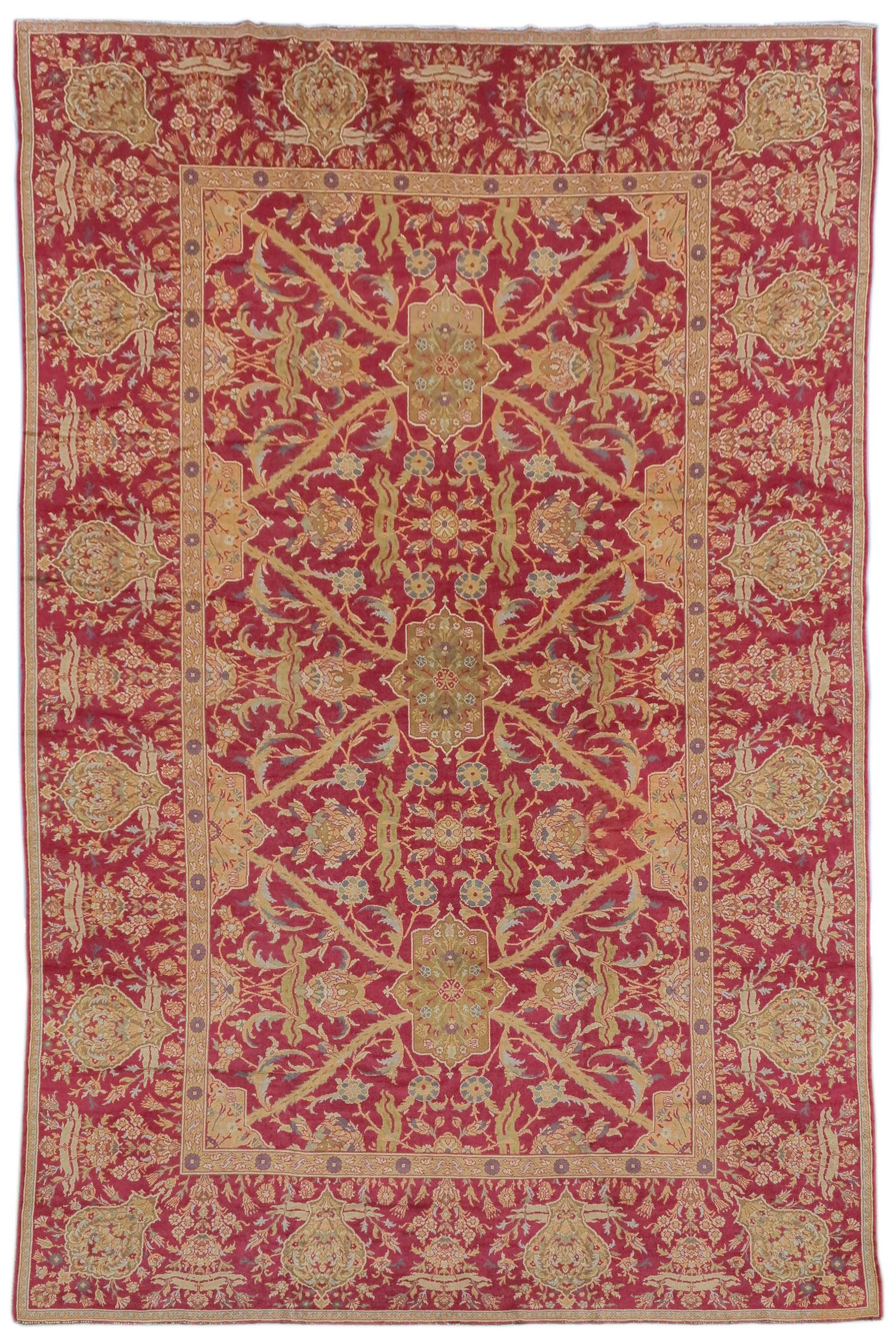 Ottoman style carpet