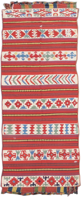 Uzbek Flatwoven rug