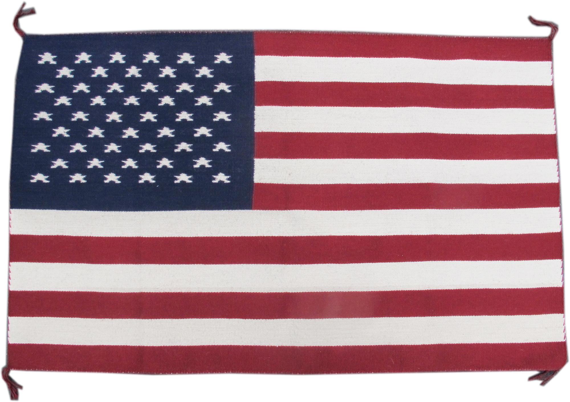Navajo Flag Rug