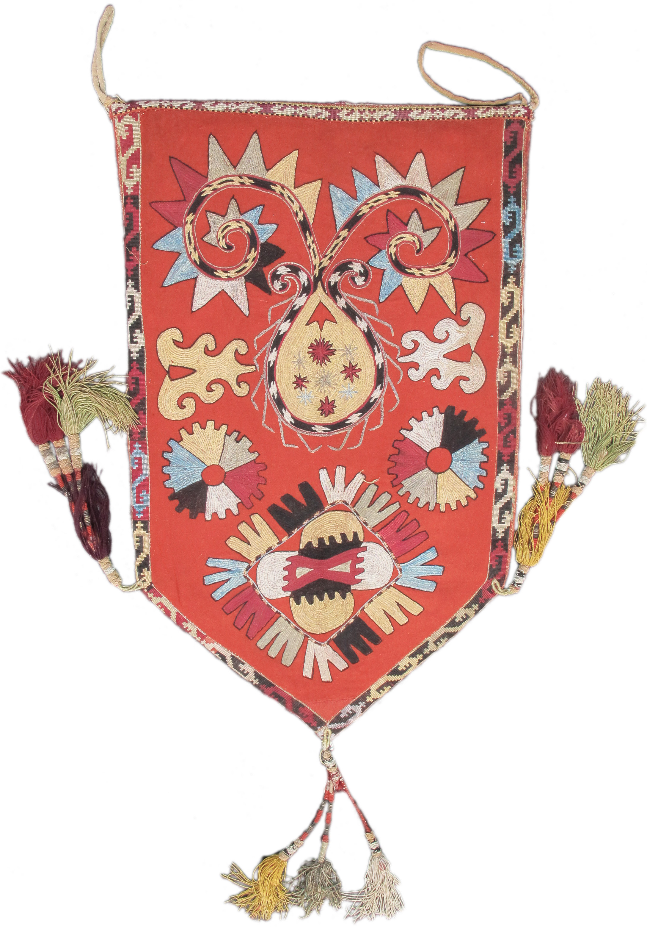 Central Asian embroidery