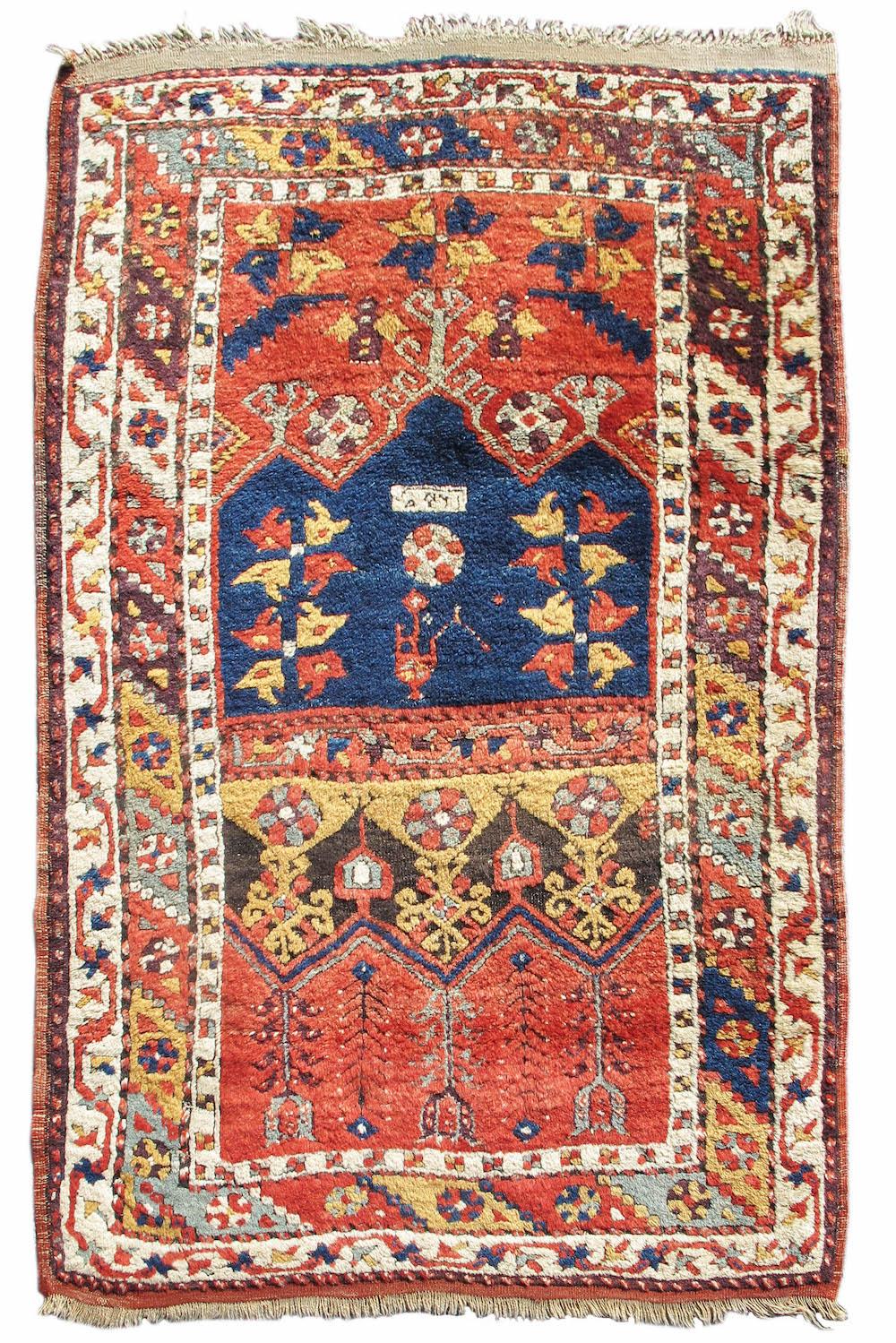 Konya area prayer rug