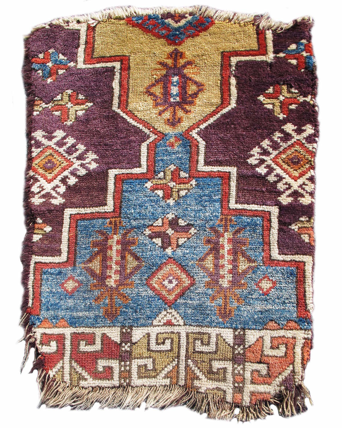 Central Anatolian rug fragment